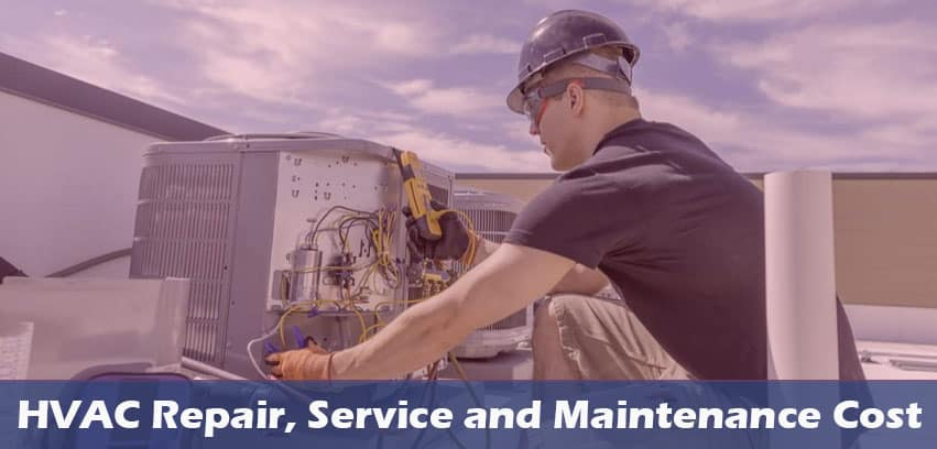 HVAC Service Cost for Repairs